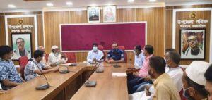 ঈশ্বরগঞ্জে পৌরবাজার ব্যবসায়ী সমিতির কমিটি গঠন